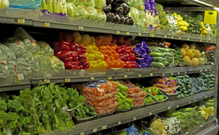 grocery vegetables produce section