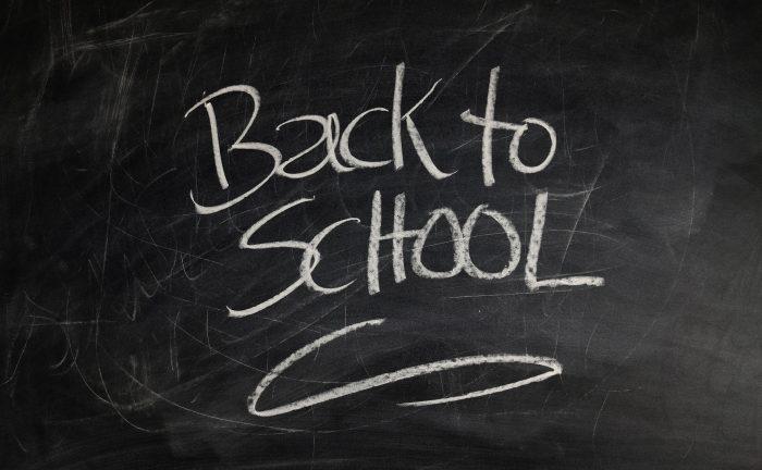 Back To School Chalk Board