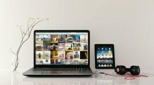 Laptop-Tablet-Headphones