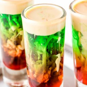 zombie brain shot halloween cocktails