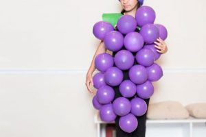 grape cheap easy diy halloween costume