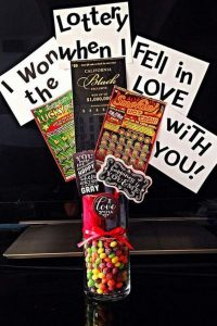 Lottery Ticket Valentine's Day Gift