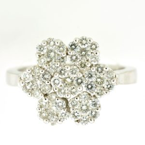 diamond flower ring price comparison