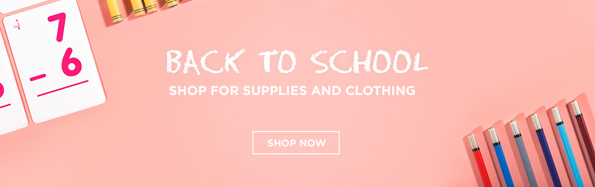Back To School Shopping for Supplies & Clothes